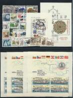 CSSR (CSR - Ceskoslovensko) , Bigger Lot Of Mint Stamps On 2 Big Stock-cards ( As Per Scan) MNH