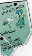 Magnets Magnet Le Gaulois Departement France 68 Haut Rhin 90 Belfort - Tourisme