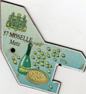 Magnets Magnet Le Gaulois Departement France 57 Moselle - Tourisme