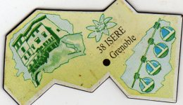 Magnets Magnet Le Gaulois Departement France 38 Isere - Tourisme