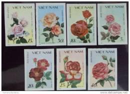 Vietnam Viet Nam MNH Imperf Stamps 1988 : Rose / Flower (Ms537) - Vietnam