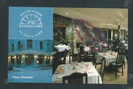 M1025 - MONTREAL Restaurant Du Vieux Port - Canada - Québec - La Citadelle