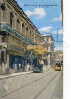 Cuba - Calle De José A Saco - Santiago De Cuba - Postcards