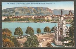Carte Postale De Genève - GE Genève
