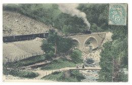 Cpa Au Pont De L'enceinte - Le Pont Neuf  ( Chemin De Fer, Train )   ((S.252)) - France