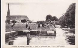 CARTE POSTALE     Plage Et Baignade Sur L'Eure à BECHERET 28 - France