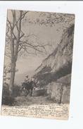 A MONNETIER SUR LA ROUTE DES VOUTES 3043  (EXCURSIONNISTES SUR MULETS)1905 - Sonstige Gemeinden