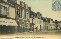 80 SAINT VALERY SUR SOMME -  Rue De La Ferté, La Poste - Saint Valery Sur Somme