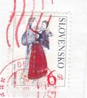 Slovacchia - Frammento Con 1 Stamp - Slovakia