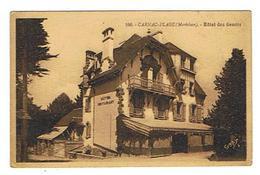 CPA 56 CARNAC PLAGE Hotel Des Genets - Carnac