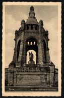 7348 - Alte Ansichtskarte - Porta - Denkmal Kaiser Wilhelm - Heinrich Koch - Gel 1933 - Monuments