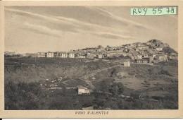 Calabria-vibo Valentia Veduta Panoramica Parte Citta' Vibo Valentia Anni 40/50 - Vibo Valentia