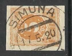 Estland Estonia 1919 Michel 6 O SIMUNA - Estland