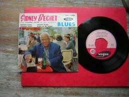 45 T VOGUE EPL 7 496 BLUES  SIDNEY BECHET AVEC CLAUDE LUTER ET SON ORCHESTRE  FRANCIS BLUES WABASH BLUES SOCIETY BLUES B - Jazz