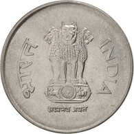 INDIA-REPUBLIC, Rupee, 1998, TTB+, Stainless Steel, KM:92.2 - India