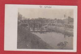 Carte Photo  --  Identifiée Comme St Simon - Francia