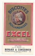 BUVARD NEUF SUPERBE  THEME BISCOTTES HOLLANDAISES  MARQUE EXCEL - Biscottes