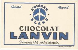 BUVARD NEUF SUPERBE  THEME CHOCOLAT   LANVIN - Cocoa & Chocolat
