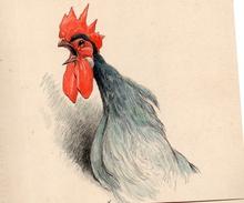 DE BADTS DE CUGNAC.Trois Aquarelles Sur Papier.divers Formats .vers 1930. - Aquarelles