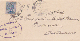 Italy 1920 Letter From Cutrone To Catanzaro - Used