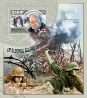 NIGER 2014 - World War II, W.  Churchill - YT BF348; CV = 15 €