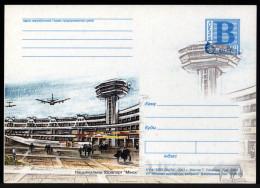 Belarus 2001. Postcard. Aviation Minsk National Airport - Belarus