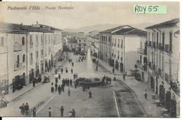 Campania-caserta-piedimonte D'alife Piazza Municipio Veduta Animatissima Primi 900 - Italia