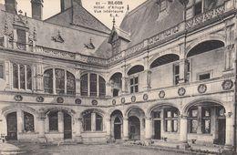G , Cp , 41 , BLOIS , Hôtel D'Alluye , Vue Intérieure - Blois