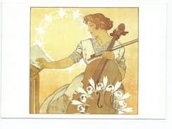 Alphonse Mucha Zdenka Cerny Editions Hazan Paris 1998 3006 Femme Violoncelle Violoncelliste - Mucha, Alphonse