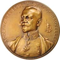 Belgique, Medal, Adolphe Max, Bourgmestre De Bruxelles, Politics, Society, War - Other