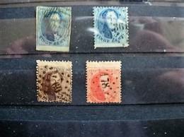 NRS 11A-15-14A-16A ALLEN MET BOORD / FEUILLET DE BORD - 1863-1864 Medaillen (13/16)