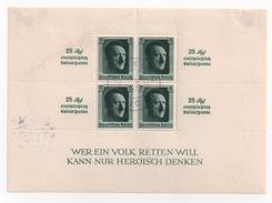 Allemagne 1937 - Bloc-Feuillet N°10 ( Yvert Et Tellier ) Oblitéré. D.Reich. - Allemagne