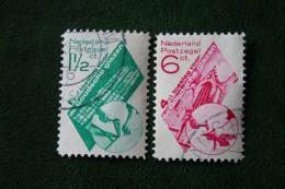Goudse Glazen NVPH 238-239 (Mi 243-244) 1931 Gestempeld / USED NEDERLAND / NIEDERLANDE - Oblitérés