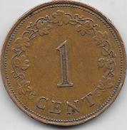 Cent MALTA 1972 - Malte
