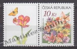 Czech Republic - Tcheque 2006 Yvert  419, Definitive, Flowers, Flowers Bouquet  - MNH - Czech Republic