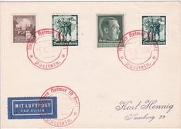 ALLEMAGNE 1938 LETTRE DE PÜRSTEIN - Occupazione 1938 – 45