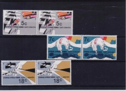 CYPRUS STAMPS EUROPEAN UNION IN PAIR-10/11/86- MNH-COMPLETE SET - Cyprus (Republic)