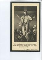 MARIA VAN DE GEHUCHTE ECHTG CAMIEL DE VIAENE ° DRONGEN ( GENT ) 1864 + 1929 - Images Religieuses