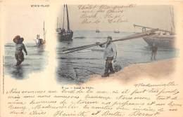 62 - Pas De Calais - Berck - Avant La Pêche - Très Beau Cliché Colorisé - Précurseur - Berck
