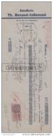 39 592 MOREZ JURA 1937 Emaillerie TH. RENAUD - COLLEMANT Rue Republique A MASTEAU - Wechsel
