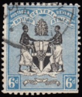 BRITISH CENTRAL AFRCA - Scott #24 Coat Of Arms Of The Protectorate / Used Stamp - Great Britain (former Colonies & Protectorates)