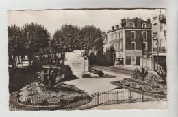 CPSM MONTLUCON (Allier) - Avenue Ety Monument Marx Dormoy - Montlucon