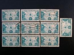 741  France D' Outre-mer  Lot De 10  1945