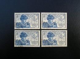 743  Louix XI  Lot De 4  1945