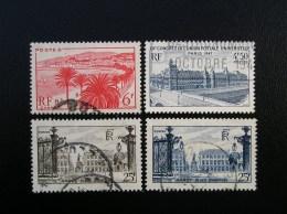 777-778-781-822  Monuments Et Sites  Lot De 4  1947