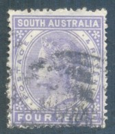 South Australia 1883. 4d Purple (p.15). SG 189. - 1855-1912 South Australia