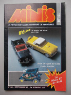 - MINIS. La Revue Des Collectionneurs De Miniatures. N°101 - Suzuki GSX 750, Fifties, Peugeot, L´Abrams M1 - - Magazines