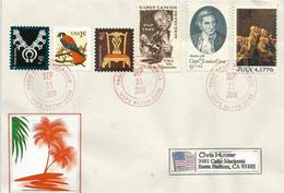 Belle Lettre De PAGO PAGO (îles Samoa Américaine), Adressée En Californie - American Samoa