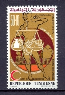 Tunisia/Tunisie 1975 - Stamp - The Tunisian Red Crescent - Tunisia