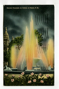 Electric Fountain, In Colors, At Ponce, P.R. - Postcards